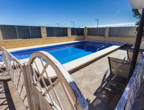 Villa aislada- piscina